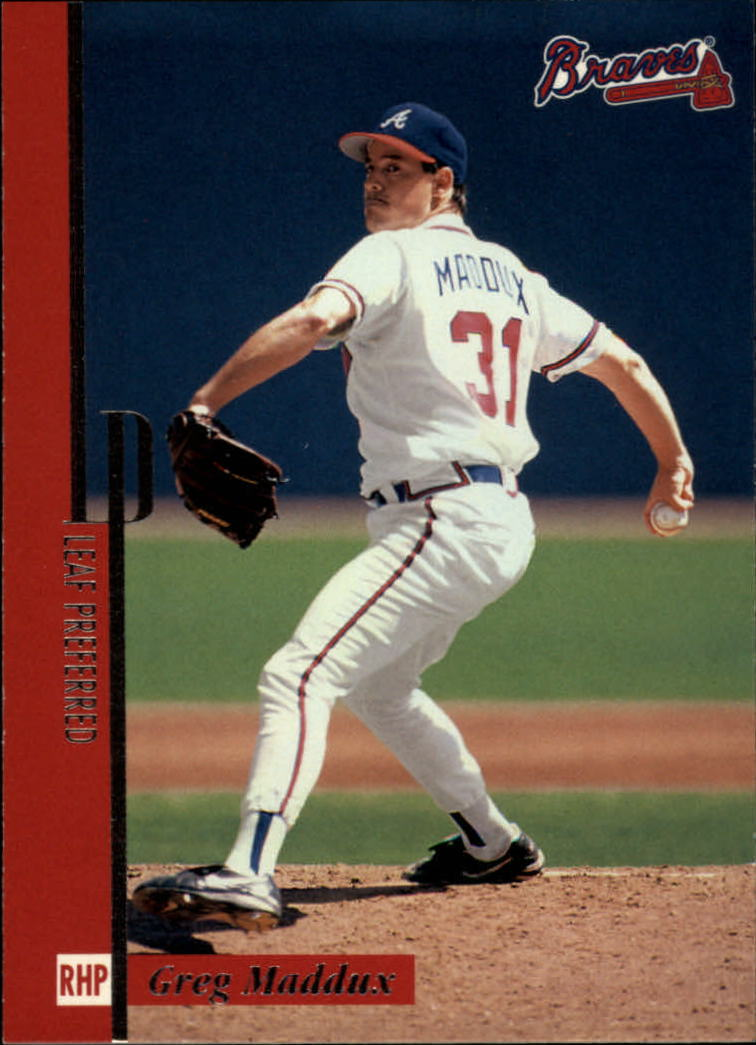 1996 Leaf Preferred #12 Greg Maddux