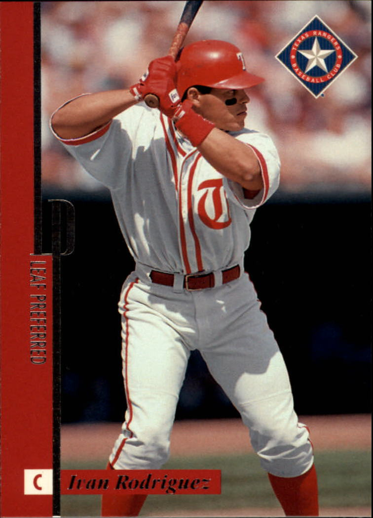 1996 Leaf Preferred #21 Ivan Rodriguez