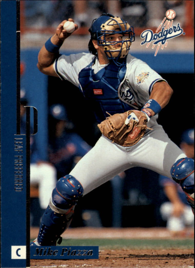 1996 Leaf Preferred #25 Mike Piazza