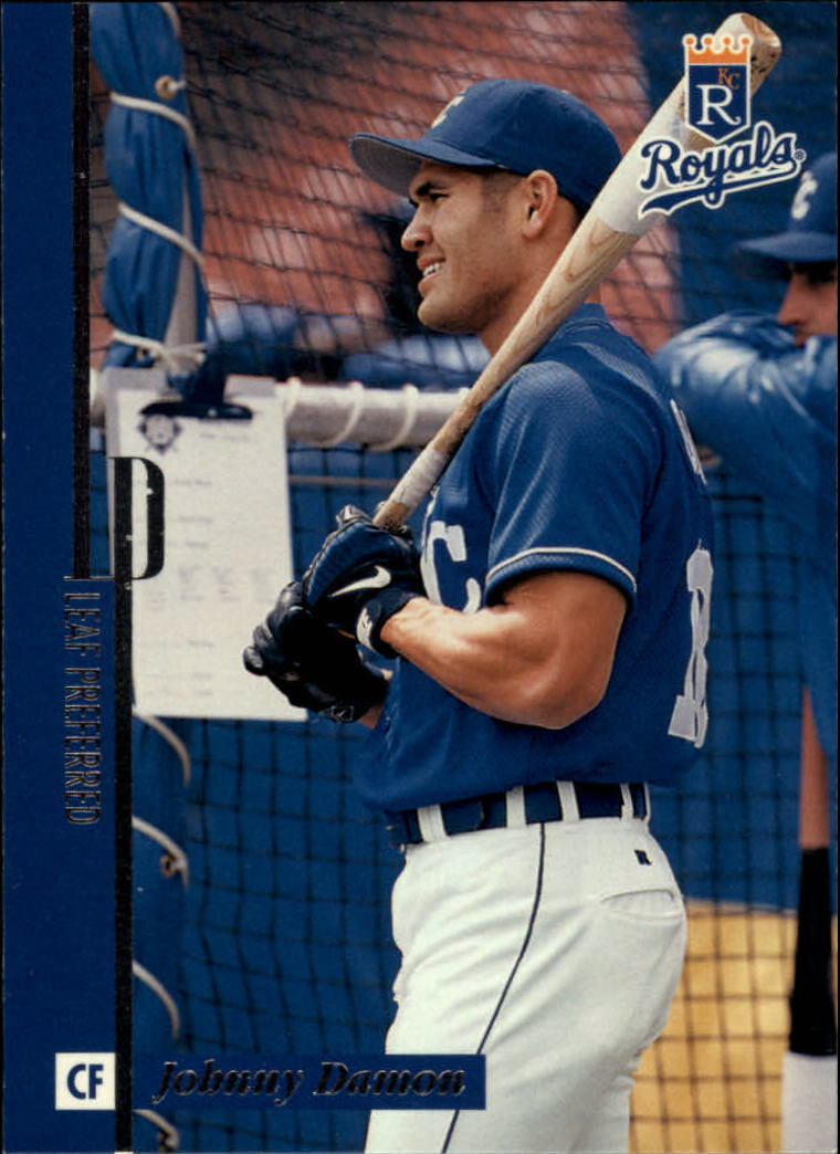 1996 Leaf Preferred #30 Johnny Damon