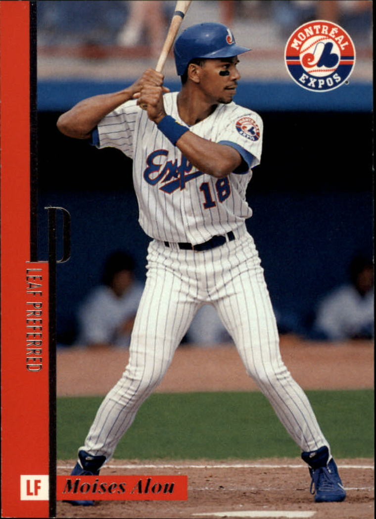 1996 Leaf Preferred #34 Moises Alou