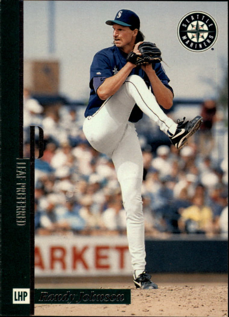 1996 Leaf Preferred #52 Randy Johnson