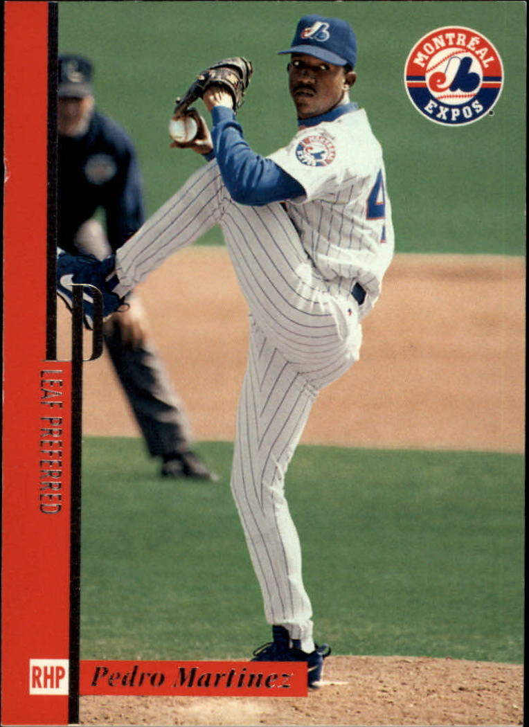 1996 Leaf Preferred #53 Pedro Martinez