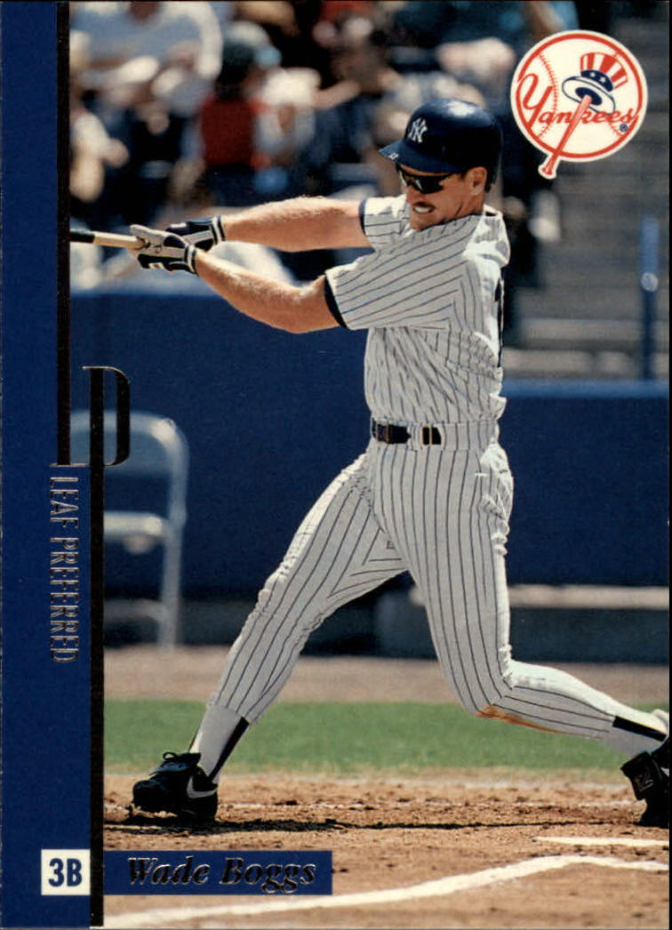 1996 Leaf Preferred #67 Wade Boggs