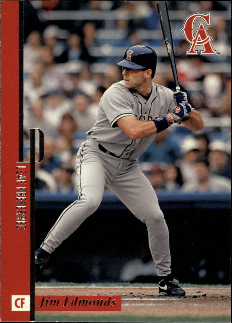 1996 Leaf Preferred #70 Jim Edmonds