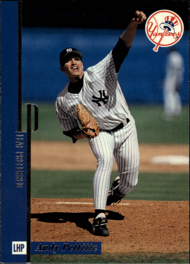 1996 Leaf Preferred #72 Andy Pettitte