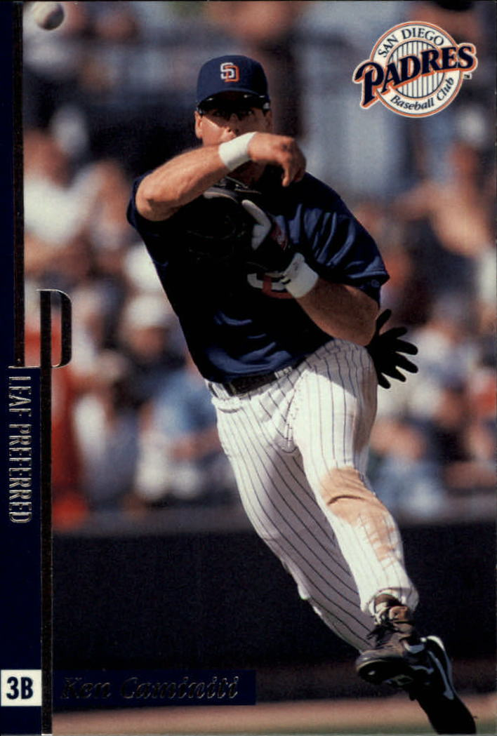 1996 Leaf Preferred #75 Ken Caminiti