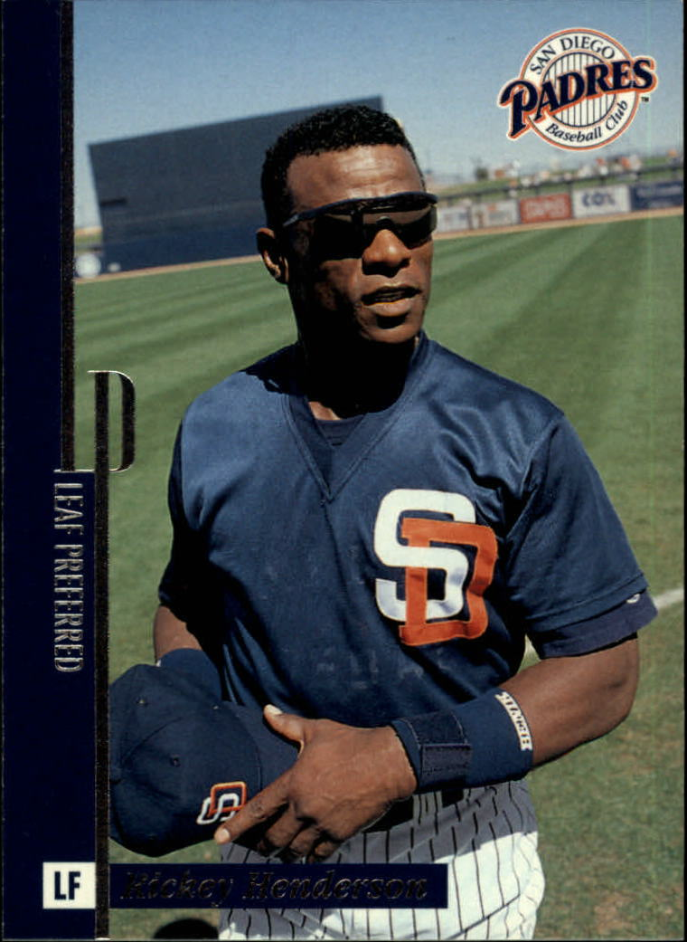 1996 Leaf Preferred #88 Rickey Henderson