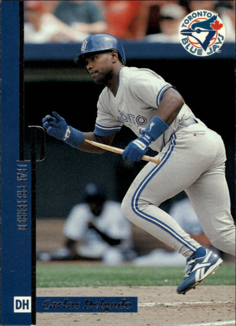 1996 Leaf Preferred #90 Carlos Delgado