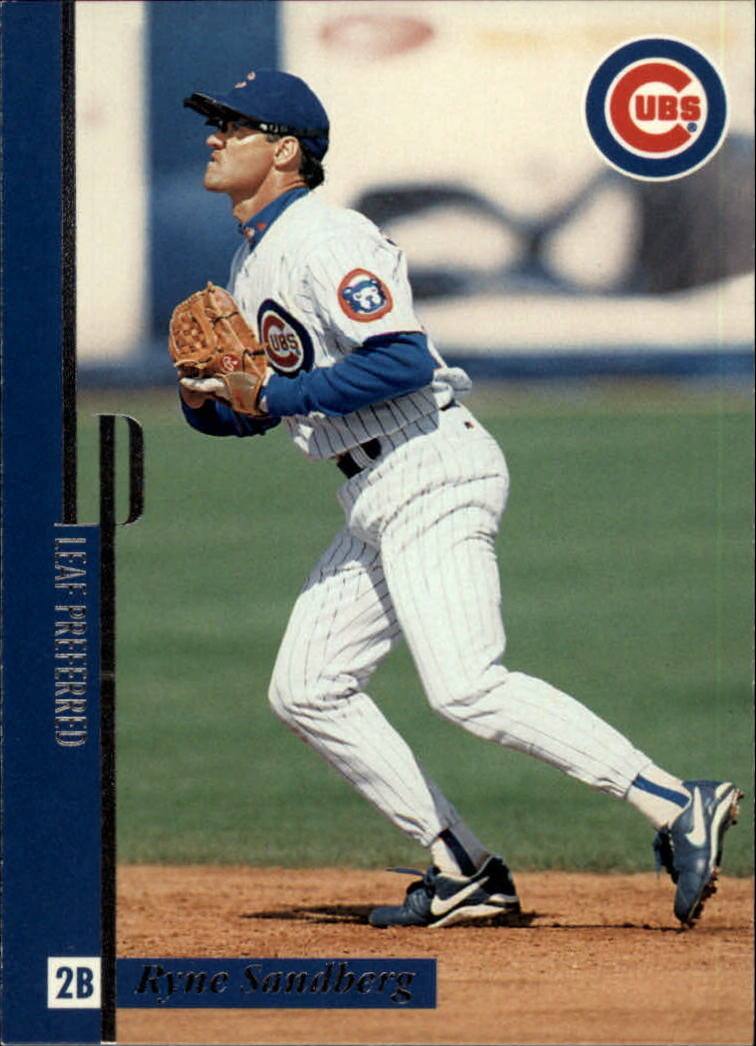 1996 Leaf Preferred #91 Ryne Sandberg