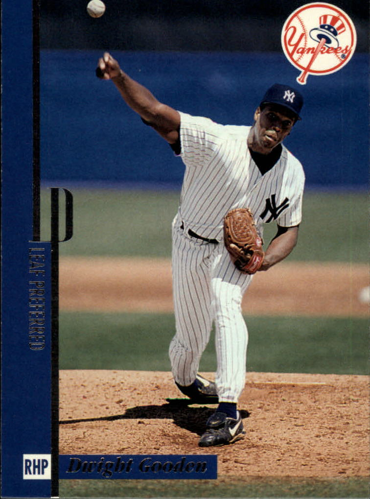 1996 Leaf Preferred #92 Dwight Gooden front image