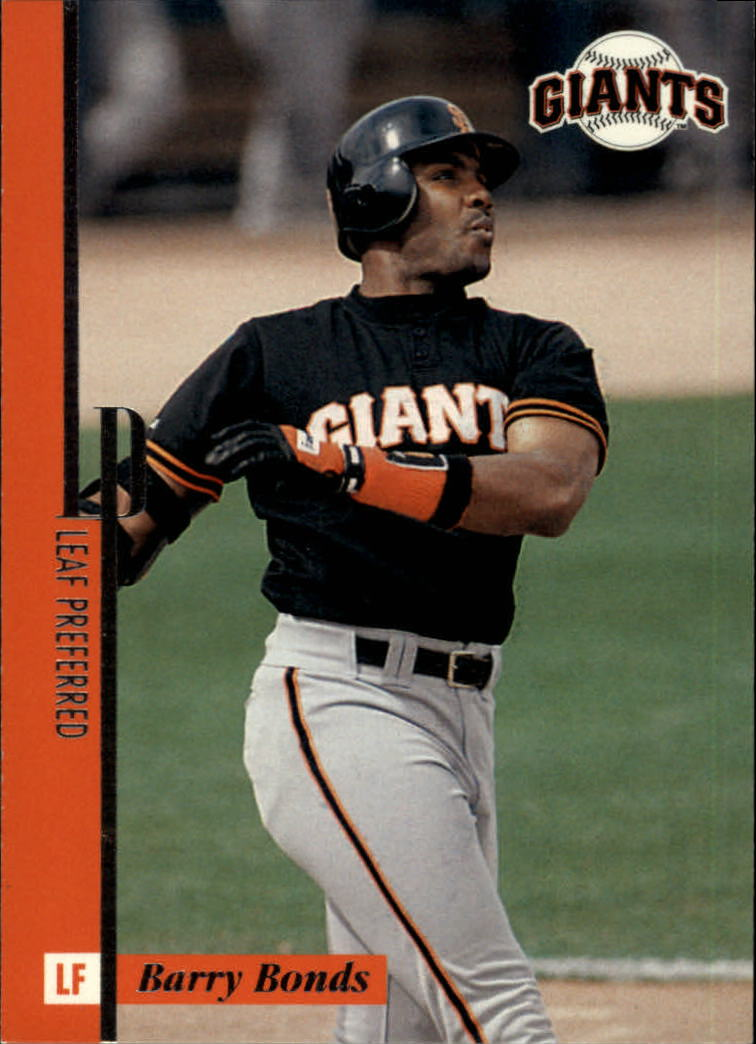 1996 Leaf Preferred #94 Barry Bonds front image