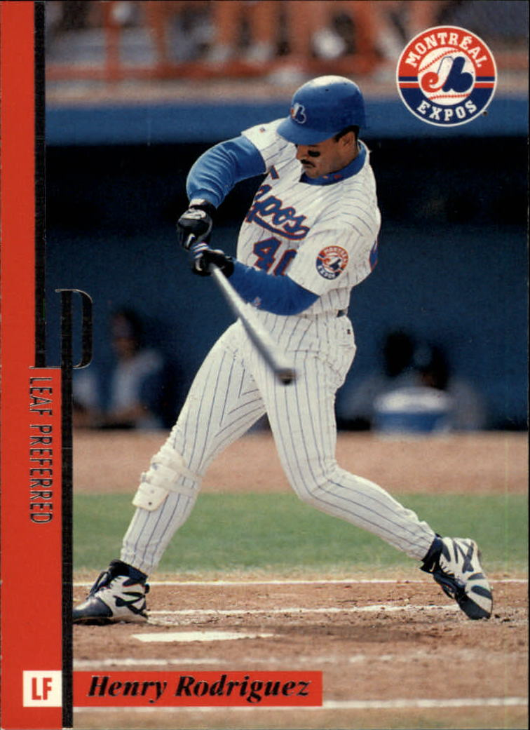 1996 Leaf Preferred #97 Henry Rodriguez