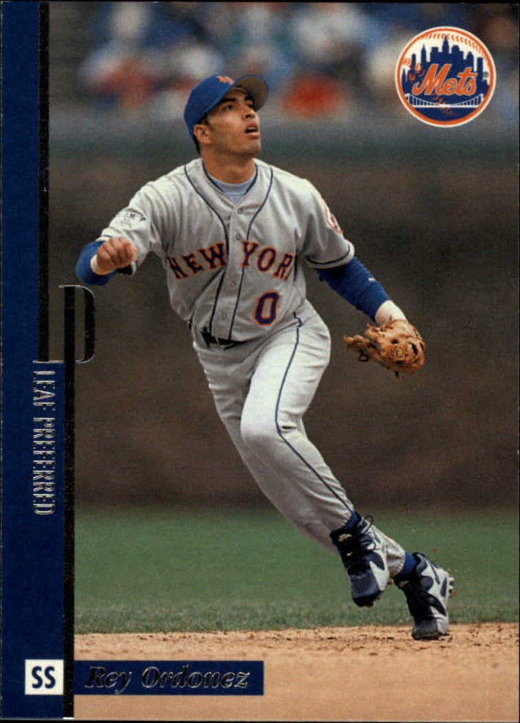 1996 Leaf Preferred #117 Rey Ordonez