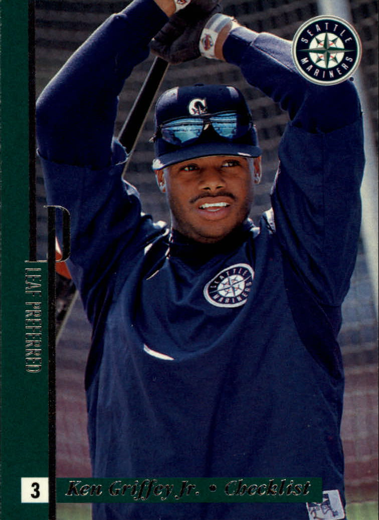 1996 Leaf Preferred #149 Ken Griffey Jr. CL