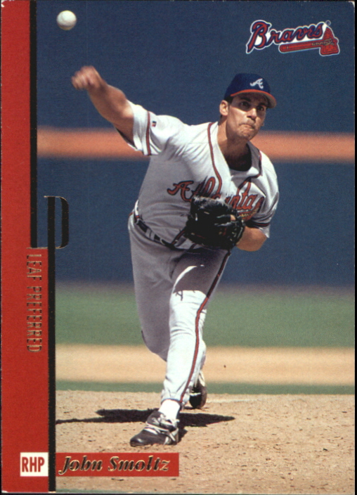 1996 Leaf Preferred Press Proofs #111 John Smoltz