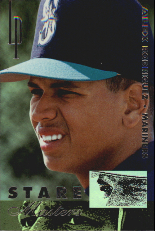 1996 Leaf Preferred Staremaster #2 Alex Rodriguez