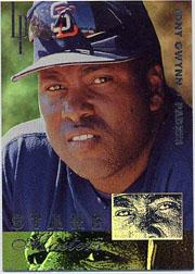 1996 Leaf Preferred Staremaster #4 Tony Gwynn front image
