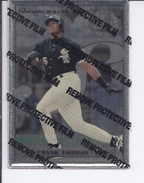 1996 Leaf Preferred Steel #1 Frank Thomas