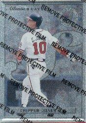 1996 Leaf Preferred Steel #33 Chipper Jones