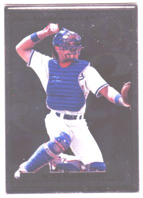 1996 Leaf Preferred Steel #51 Mike Piazza