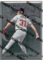 1996 Leaf Preferred Steel #53 Greg Maddux