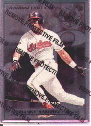 1996 Leaf Preferred Steel #77 Manny Ramirez