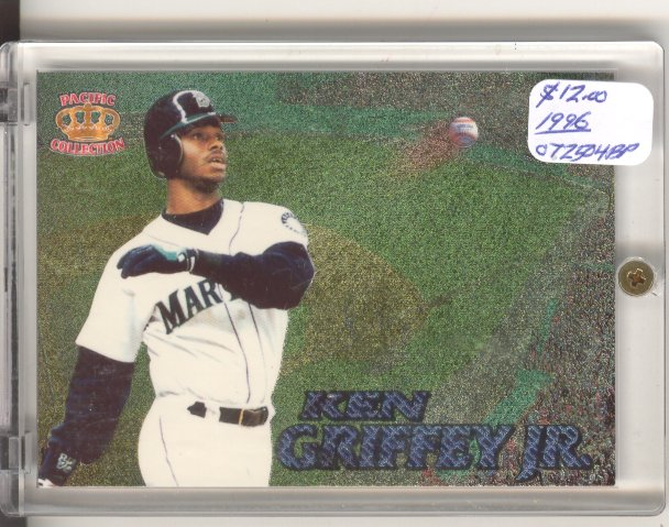 1996 Pacific Prisms Fence Busters #FB6 Ken Griffey Jr.