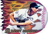 1996 Pacific Prisms Flame Throwers #FT1 Randy Johnson