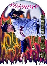1996 Pacific Prisms Flame Throwers #FT3 Roger Clemens