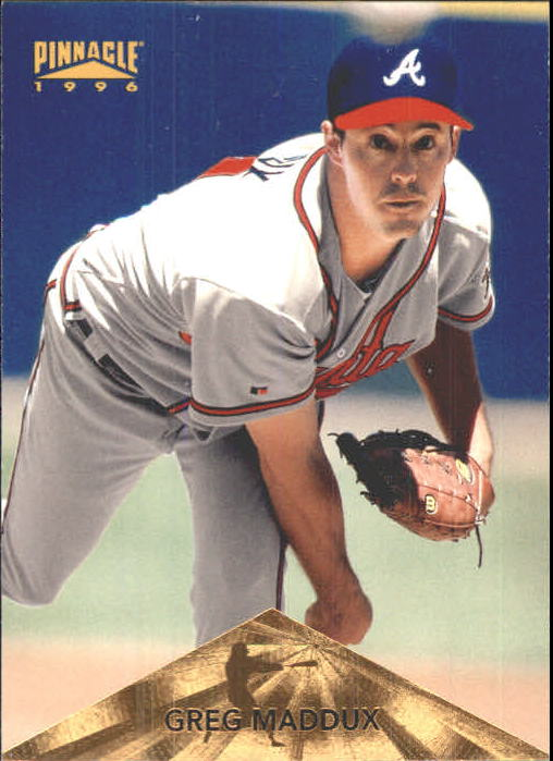1996 Pinnacle #1 Greg Maddux