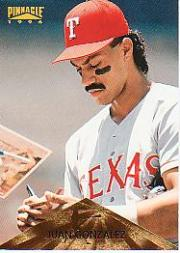 1996 Pinnacle #38 Juan Gonzalez