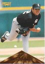 1996 Pinnacle #40 Alex Fernandez