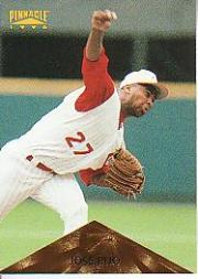 1996 Pinnacle #44 Jose Rijo