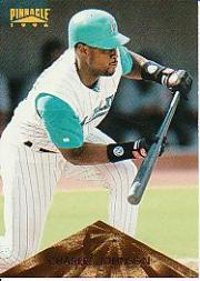 1996 Pinnacle #52 Charles Johnson