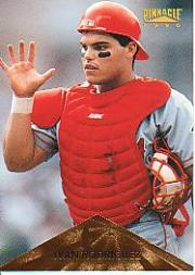 1996 Pinnacle #59 Ivan Rodriguez