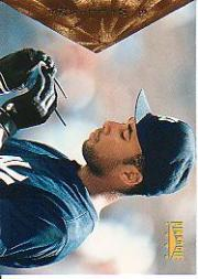 1996 Pinnacle #85 Bernie Williams
