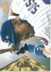 1996 Pinnacle #92 Sammy Sosa
