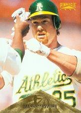 1996 Pinnacle #130 Mark McGwire