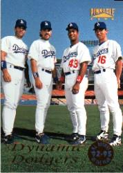 1996 Pinnacle #132 Dodger ROY's