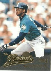 1996 Pinnacle #134 Ken Griffey Jr. NAT