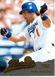 1996 Pinnacle #138 Mike Piazza NAT