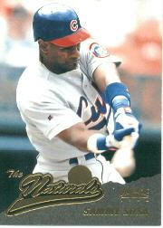 1996 Pinnacle #140 Sammy Sosa NAT