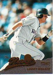 1996 Pinnacle #150 Larry Walker NAT