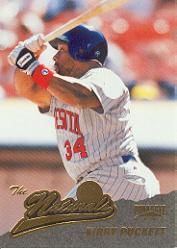 1996 Pinnacle #155 Kirby Puckett NAT