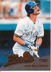 1996 Pinnacle #157 Don Mattingly NAT