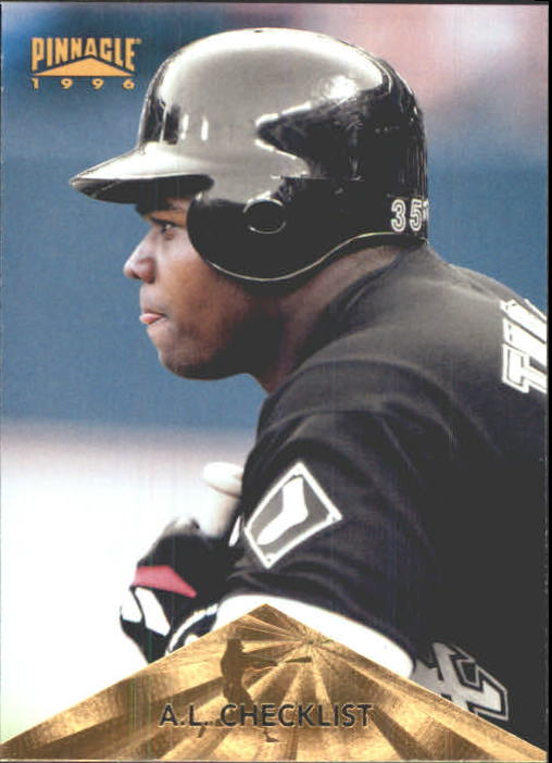 1996 Pinnacle #194 Frank Thomas CL