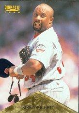 1996 Pinnacle #203 Kirby Puckett