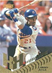 1996 Pinnacle #263 Sammy Sosa HH