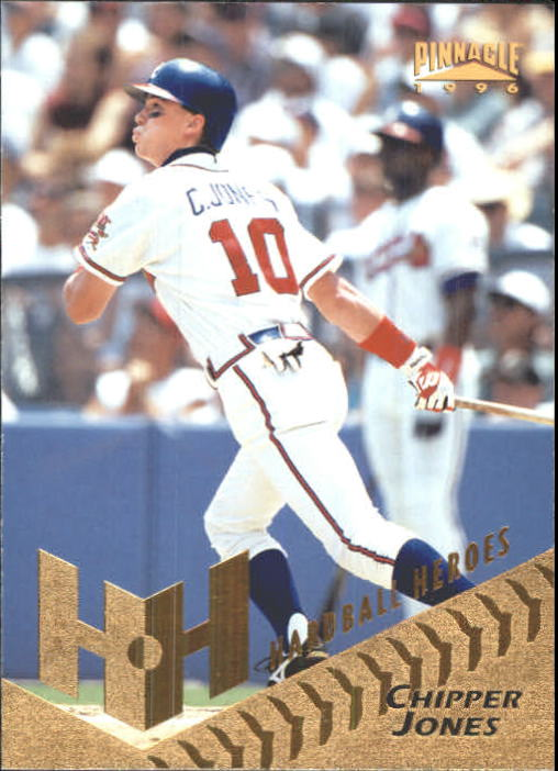 1996 Pinnacle #266 Chipper Jones HH